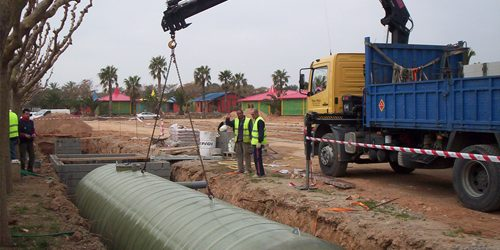Normativa para soterrar depósitos de poliéster (II)